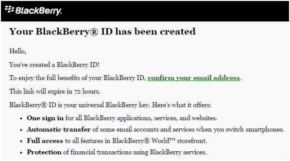 Blackberry Password Blackberry id Password